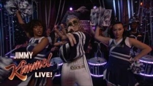 "Lil Pump Performs ""be Like Me"" On Jimmy Kimmel Live!"